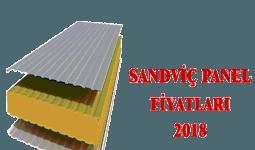 Sandviç Panel Fiyatları 2018