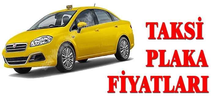 Taksi Plaka Fiyatları 2018