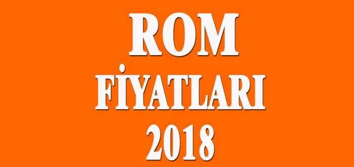 Rom Fiyatları 2018